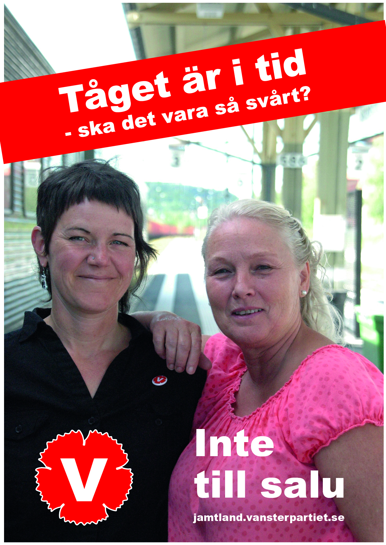 Jessika Svensson 1:a namn på riksdagslistan MonaLisa Norrman 1:a namn på landstingslistan