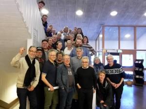 Deltagare vid årskonferensen för Vänsterpartiet Jämtlands län 13 februari 2016. Foto: Xamuel Gonzalez